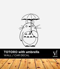 Umbrella Totoro con, Pegatinas De Pared, Pegatina De Vinilo, Hogar Calcomanía