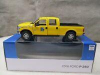 SWORD 2016 Ford F250 PennDot Yellow Pickup Truck Crew Cab 6 ft bed 1/50 NIB