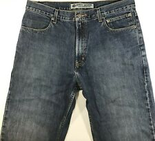 Harley Davidson Motor Clothes Jeans Jeans For Men's 36x32 Blue Pre - Owned