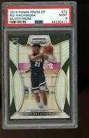 2019 Panini Prizm Draft Picks SILVER #73 Rui Hachimura Wizards Rookie RC PSA 9