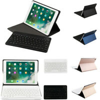 For Apple iPad Smart Wireless Bluetooth Keyboard With Slim Clamshell Case Cover
