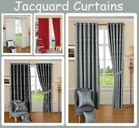 Luxury Quality Cleo Curtain & Cushion Covers Face 130gsm Jacquard  100% Polyeste