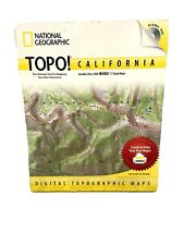 SEALED National Geographic California USGS Topogrpaphic Maps TOPO 2800 Maps
