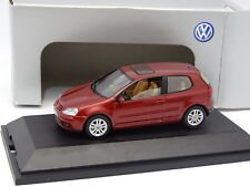 Schuco 1/43 - VW Golf V 5 3 portes Rouge
