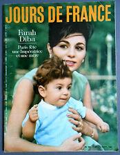 ►JDF 361-1961- FARAH DIBA - MYLÈNE DEMONGEOT - MARINA VLADI - JACQUES GRIFFE...