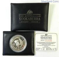 1992 KOOKABURRA PROOF SILVER Coin in Wallet