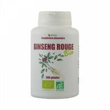 Ginseng Rouge Bio - 200 gélules végétales de 300 mg