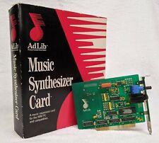 AdLib Music Synthesizer Sound Card 1987 - REAL - Not Clone - OPL2 Yamaha YM3812