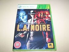 LA NOIRE FOR MICROSOFT XBOX 360 NEW AND SEALED.