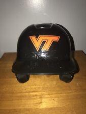 2017 Easton Virginia Tech Hokies #15 Marcus White Game Worn Baseball Helmet