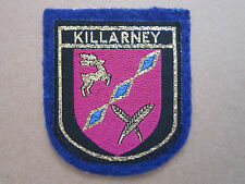Killarney Woven Cloth Patch Badge