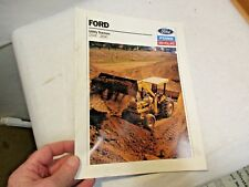 1991 Ford Utility Tractors Brochure 250C, 260C that is in good shape - NR