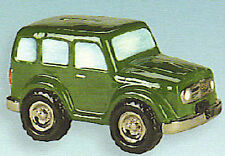 Ceramic Bisque Ready to Paint Sports Utility Suv Bank