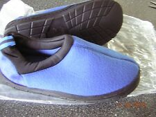 NIB New Women's Blue Slippers House shoes - Size 7 8  Indoor Outdoor Sole