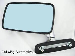 BMW 2002 1600 320i 323i STAINLESS FLAG mirror LEFT NEW