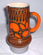 Krugvase Lava  Strehla Keramik VEB Sachsen um 1960 DDR