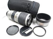 SMC PENTAX FA* 80-200mm 2.8 IF & ED LENS W/CAPS/HOOD/CASE/FILTERS EXCELLENT