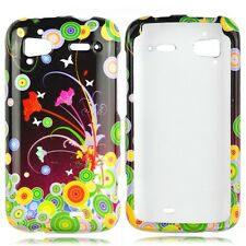 Flower Art Hard Case Phone Cover for HTC Sensation 4G