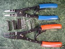 2pc 10 inch CIRCLIP RETAINING RING PLIERS Ratchet Locking tool plier snap