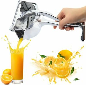 Aluminum Manual Juicer Hand Lemon Lime Juice Press Squeezer Fruit Extractor Home