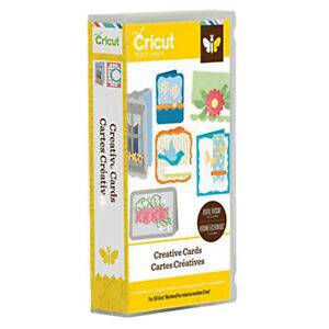 CRICUT® PROJECTS CARTRIDGE - CREATIVE CARDS NOW £10.00 RRP £16.99 FREE UK P & P