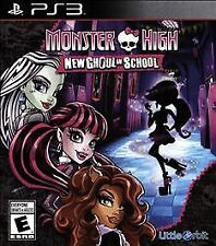 Monster High: New Ghoul in School USED SEALED (Sony PlayStation 3, 2015)