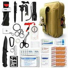 Kitgo Emergency Survival Gear and Medical First Aid Kit - IFAK Outdoor Adventure