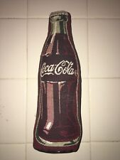 Plush Coca Cola Bottle Pillow Weighted 12 inch - Used but cleaned