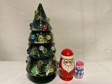 Russian Nesting Dolls Christmas Tree! 3 pcs Beautiful Gift!