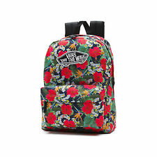 New Vans Realm Digi Aloha Floral Print Backpack Book Bag