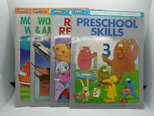 Vintage Preschool Books Learning Questron Set Of Four