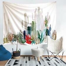 Cotton Cactus Desert Plant Tapestry Wall Hanging Living Room Dorm Home Decor - S