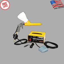 Powder Coating Paint Gun System 10 30 Psi Rim Wheel Car Body Shop Hobby New Usa
