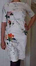 Zara Cotton Short Sleeve Floral Dresses for Women