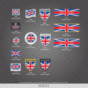 British - Made In Britain Bicycle Frame Tubing Decal - Sticker - Transfer