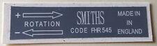 Classic Mini Vintage Smiths Heater Box Sticker For Mini Minor 1100 1300 etc