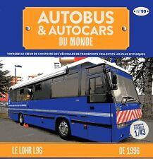 1/43 IXO - AUTOCAR / AUTOBUS /  LHOR L96 LABORATOIRE GENDARMERIE  1996