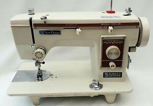 New Home Semi Industrial Sewing Machine + Stretch Stitch, Leather, Canvas etc