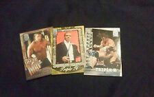 Triple H 2002 Fleer WWE All Access 3 card lot