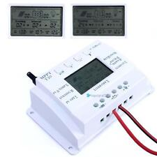 LCD 20A 12V/24V MPPT Multiple times Solar Battery Regulator Charge Controller SH
