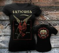 BATUSHKA LITOURGIYA DEATH OFFICIAL T-SHIRT GIRLY WOMEN FRAU ALL SIZE Батюшка Ltd