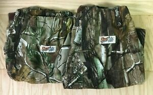 Kids Gamehide Realtree Camo Pants Size Large Insect Repellent Stretch (2 Pair)