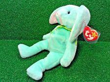 Very Rare 1996 PVC Ty Beanie Baby Hippity Rabbit ORIGIINAL & SUFACE Errors MWMT
