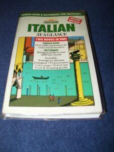 Barron's 2nd ed. Pocket Italian Dictionary & Phrase book