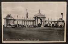 1939 Toronto Canada Rppc Cover Fdc Royal Visit Of The King George 6 Princes Gate