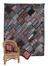 Royal Zari Work Wall Hanging Hand Made Beautiful Patchwork Ethnic  Tapestry