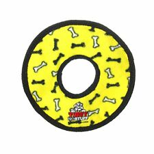 No Stuff Ultimate Ring, Durable Squeaky Dog Toy, Yellow