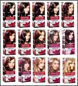 Garnier Color Sensation Intense Permanent Hair Colour Cream  All Shades