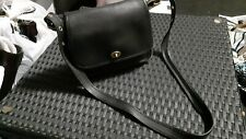 Vintage Coach 9061 Rambler Black Purse Bag