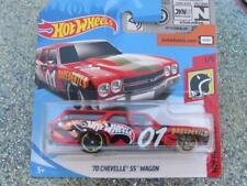 Hot Wheels 2018 #000/365 1970 CHEVELLE SS WAGON red HW Daredevils Case A